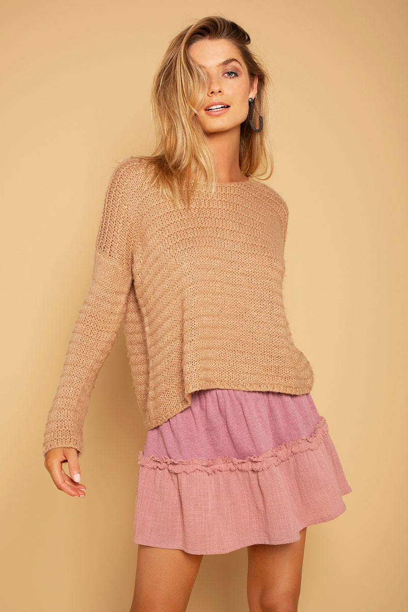 TRY SKIRT MAUVE