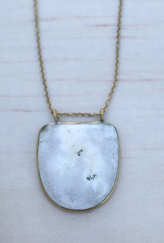 Peru Opal necklace