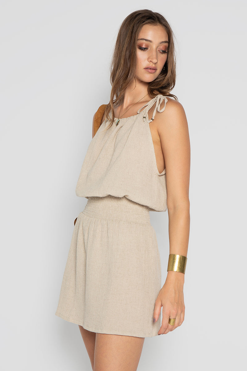 JAGUAR LINEN DRESS