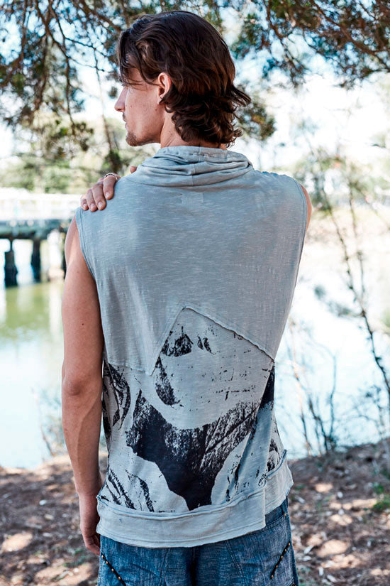 """ BE MY LAKE "" LONG NECK SINGLET"