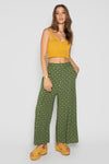 NEW MOON PANTS GREEN