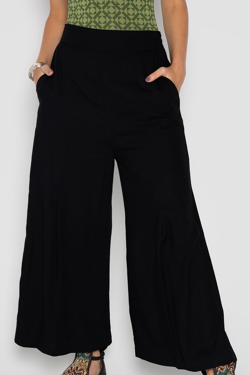 NEW MOON PANTS BLACK