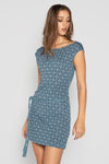 PONCIANA DRESS BLUE