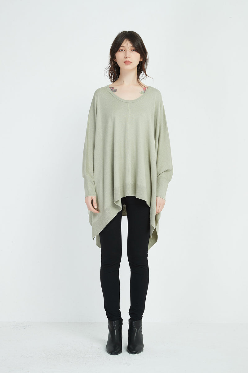 RELAXED FIT KNIT TOP