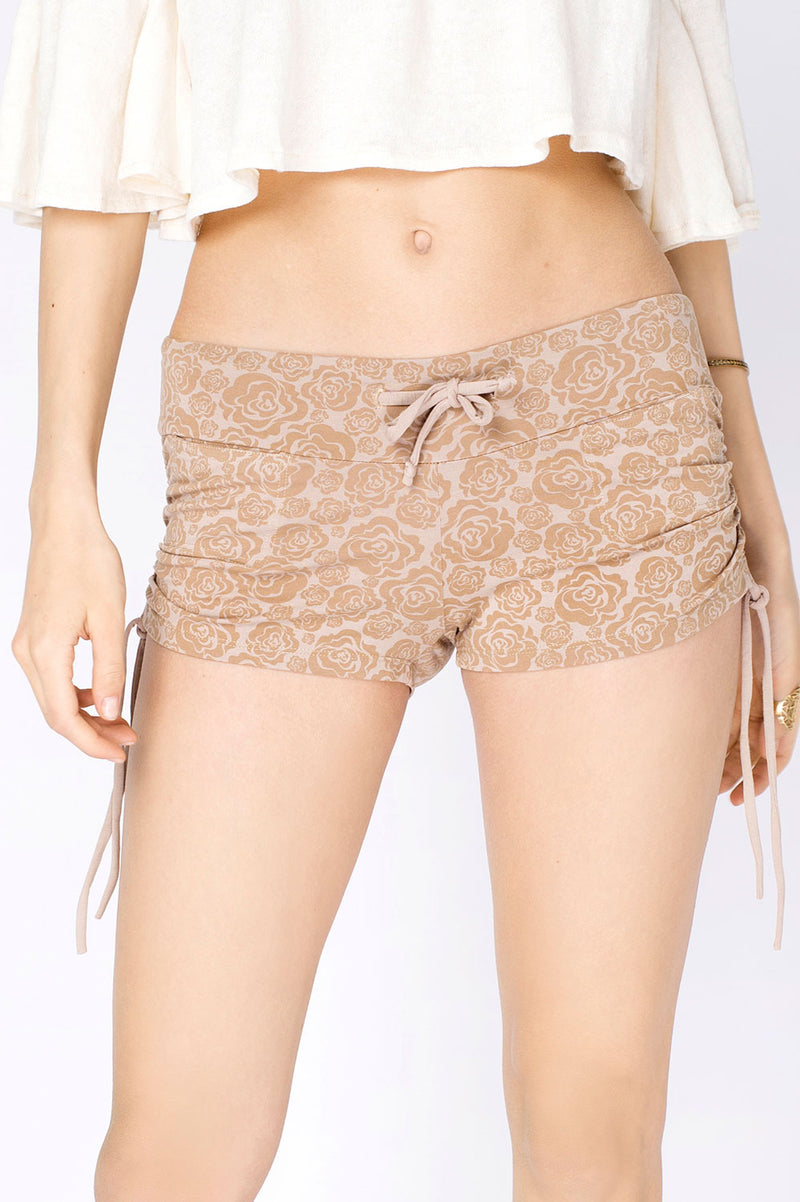 LULU SHORT w ROSE PRINT