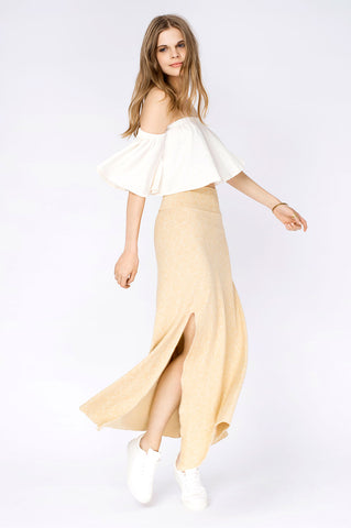 DALIA SKIRT ROSE CREAM