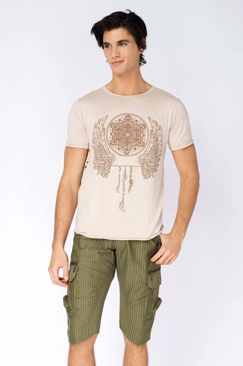 "BHOOMI ""WINGS OF LIGHT"" TEE SHIRT"