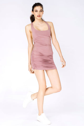KAI DRESS DUSTY PINK