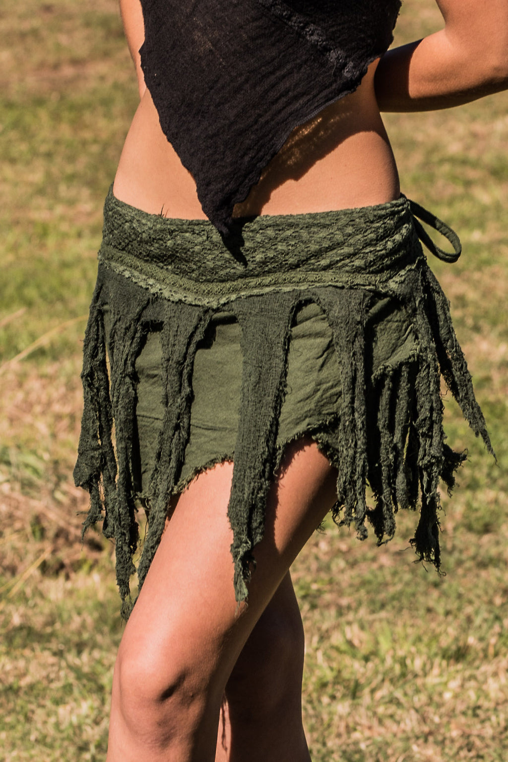 JUNGLE SKIRT IN GREEN