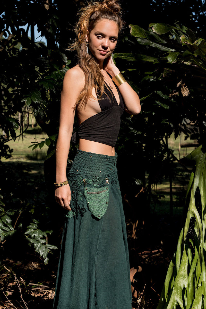 FOREST SKIRT in GREEN