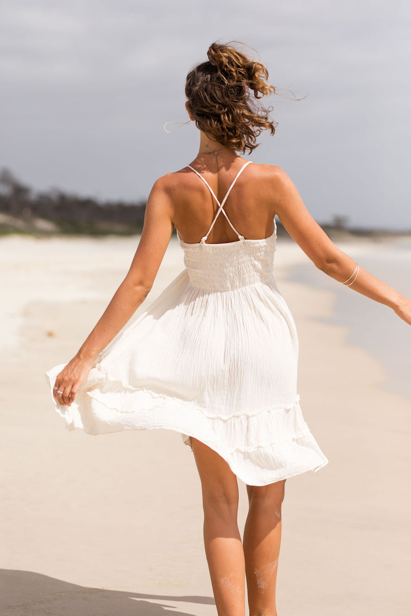SEASHELL MINI DRESS