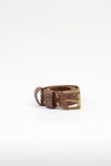 FRINGE BELT ANTIQUE BROWN