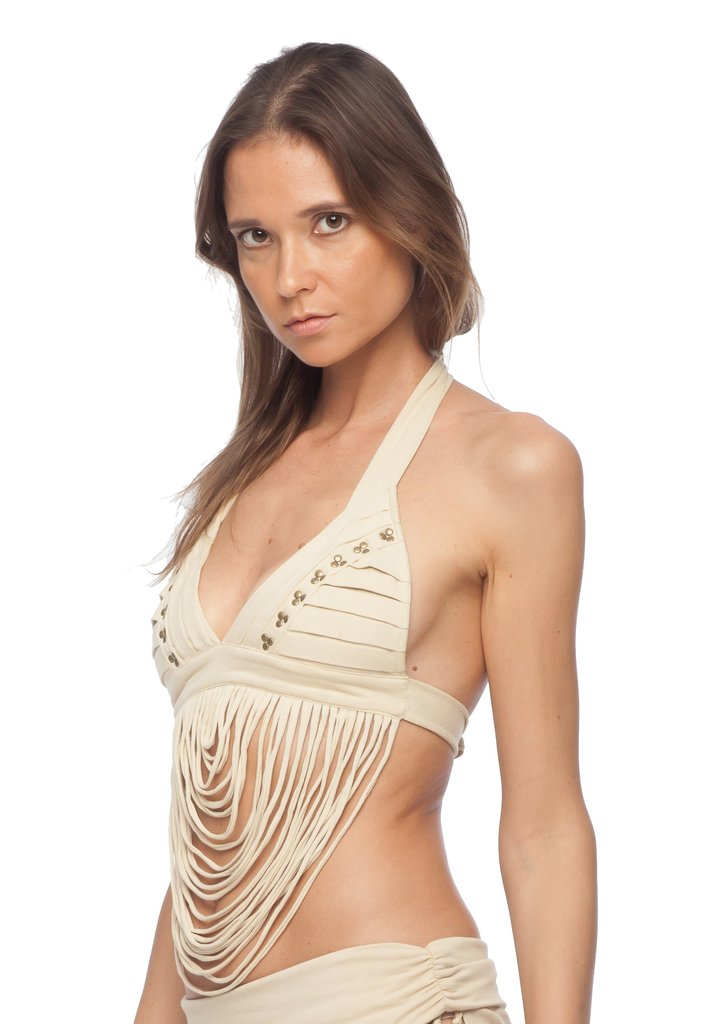 ARABIAN NIGHTS STRING STUDDED BRA