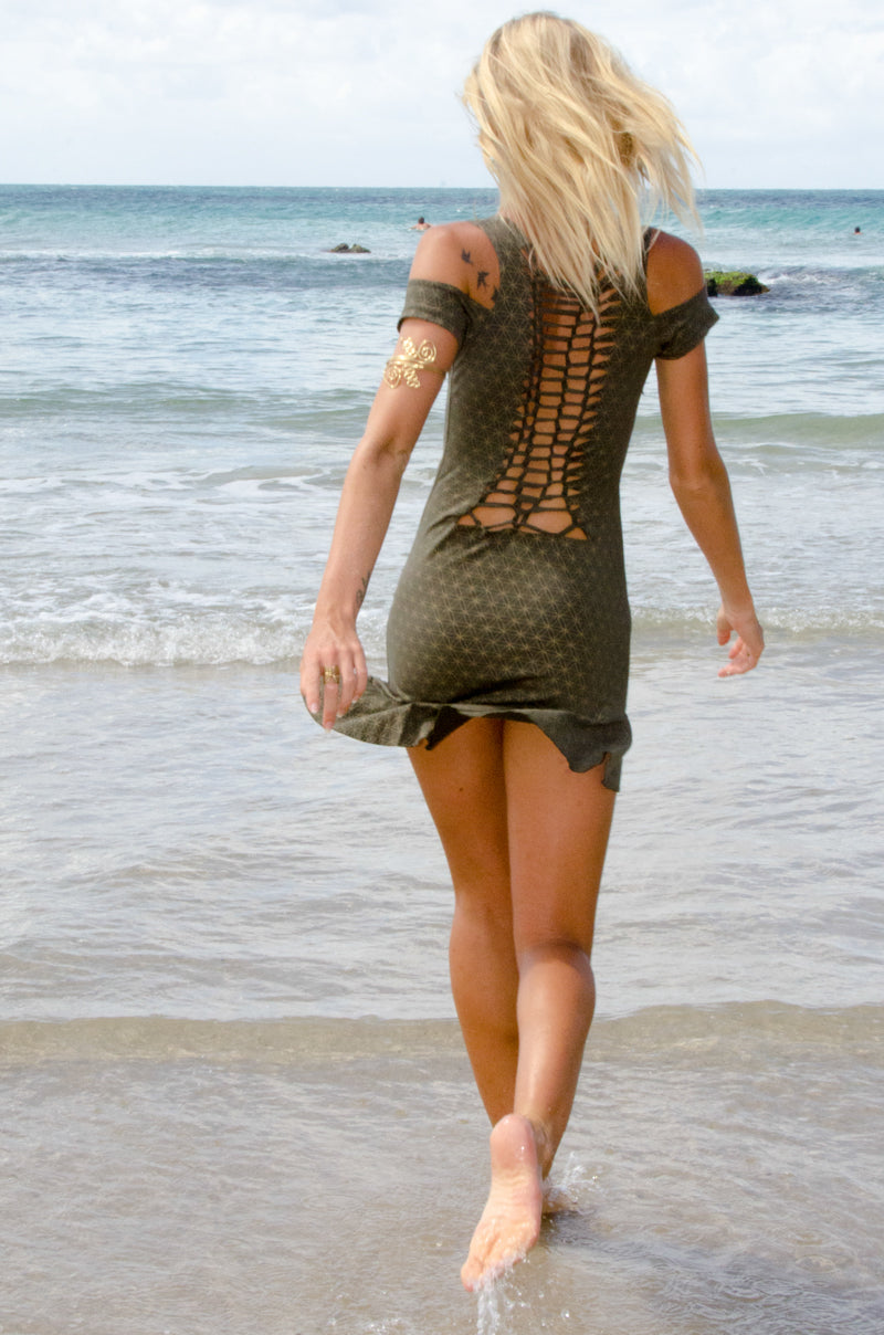 SEKUSHI BRAIDED DRESS