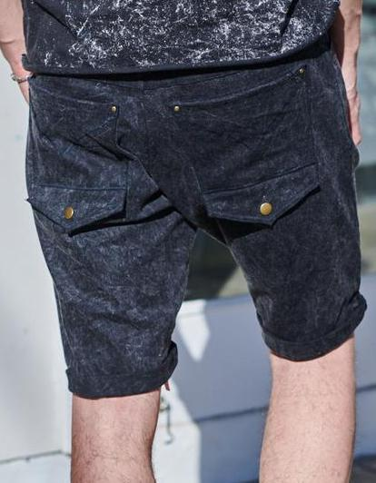 ETNIX STONEWASHED DENIM SHORTS