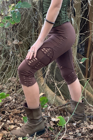 ISIS TIGHTS IN BROWN
