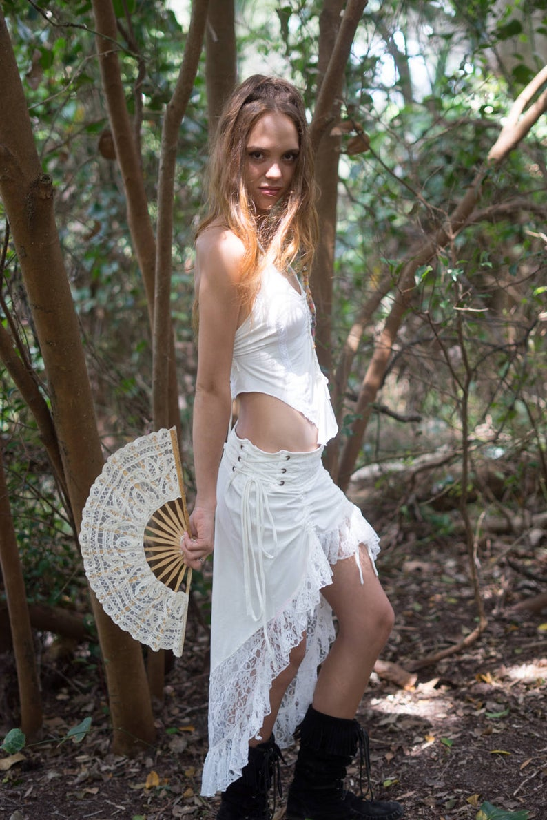 SITA SKIRT IN WHITE