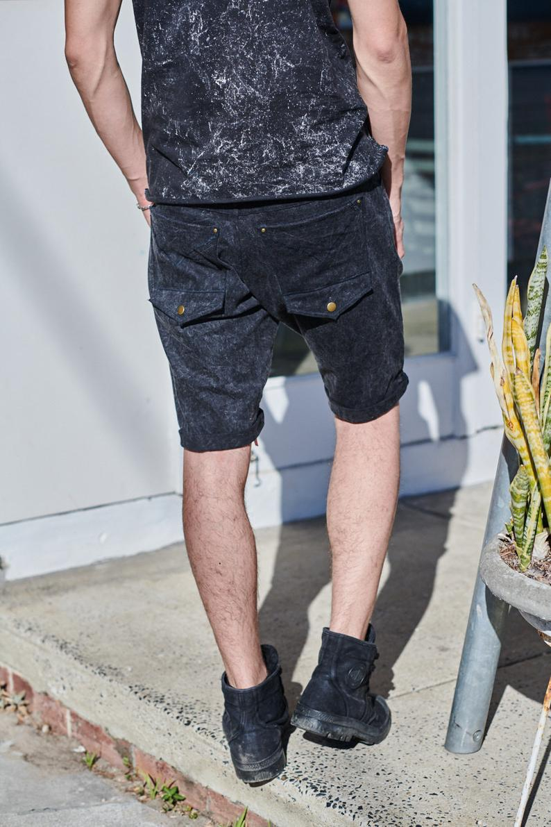 ETNIX STONEWASH DENIM SHORTS