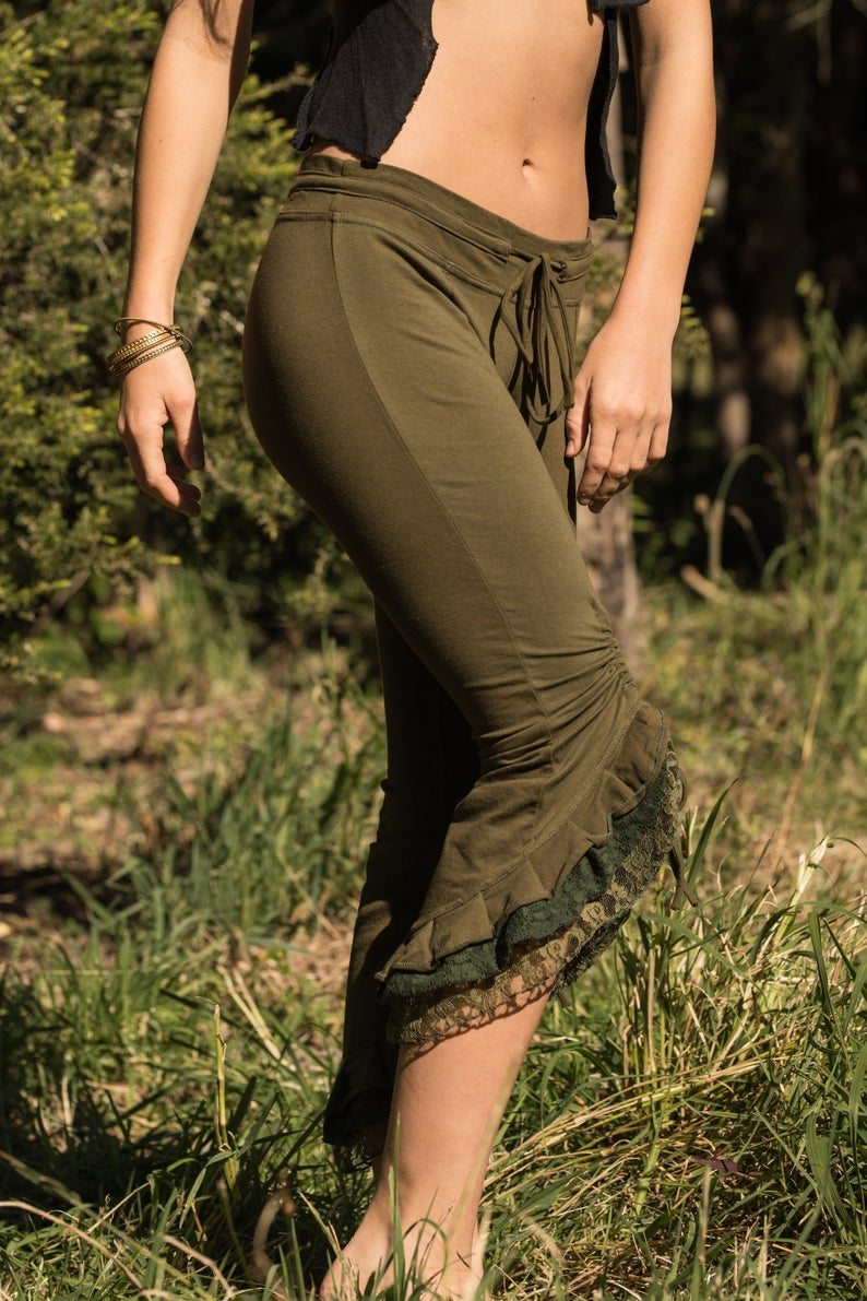 SHAKTI LEGGINGS in GREEN