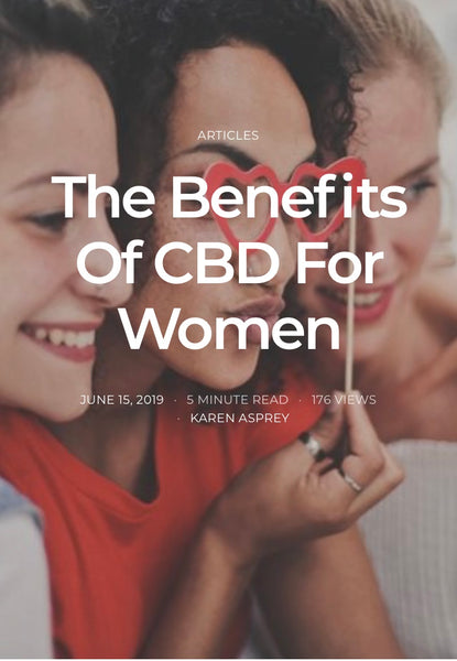 How can CBD help women ?