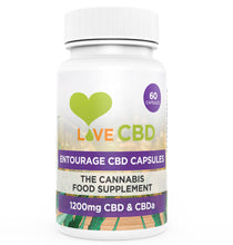 Load image into Gallery viewer, Love CBD Entourage Capsules 600mg