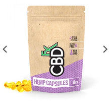 Load image into Gallery viewer, CBDfx CBD Capsules Pouch (20pcs)