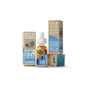 CBD FX HEMP & MCT OIL 1000MG 30ML