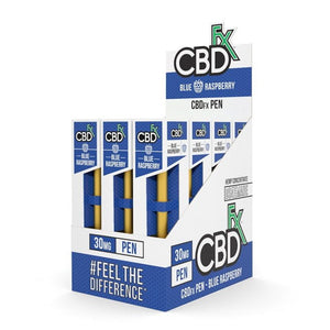 CBD FX DISPOSABLE CBD VAPE 30mg Blue Raspberry