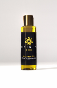 Infinity CBD Full Spectrum Massage Oil 300mg