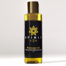 Load image into Gallery viewer, Infinity CBD Massage Oil 300mg