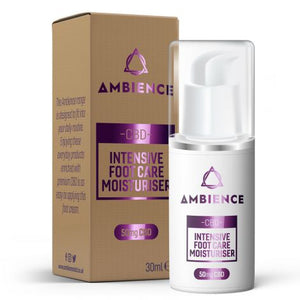 Ambience CBD Foot Care Moisturiser 50mg