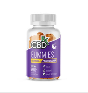 CBDfx Gummies For Sleep, Contains Chamomile 60Capsules per tub, 300mg