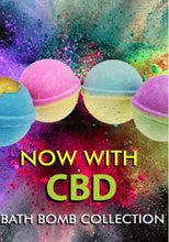 Load image into Gallery viewer, Sunstamp Bath Bombs with CBD