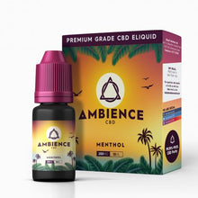 Load image into Gallery viewer, Ambience Menthol CBD E liquid 200mg-10ml