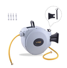 "Load image into Gallery viewer, POWER BL-CW050 RETRACTABLE GARDEN HOSE REEL - 5/8"" x 50'"