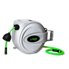 "Load image into Gallery viewer, POWER BL-GW075 RETRACTABLE GARDEN HOSE REEL - 5/8"" x 75'"