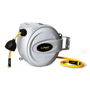 "POWER BL-GW075 RETRACTABLE GARDEN HOSE REEL - 5/8"" x 75'"