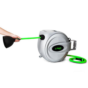 "POWER BL-GW100 RETRACTABLE GARDEN HOSE REEL - 1/2"" x 100'"