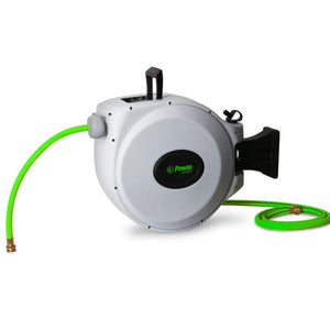 "POWER BL-CW050 RETRACTABLE GARDEN HOSE REEL - 5/8"" x 50'"