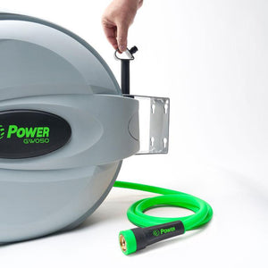 "POWER BL-GW050 RETRACTABLE GARDEN HOSE REEL - 5/8"" x 50'"