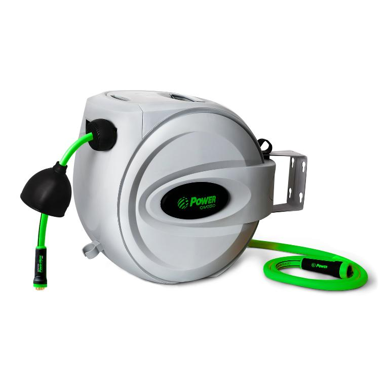 POWER BL-GW050 RETRACTABLE GARDEN HOSE REEL - 5/8