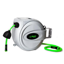 "Load image into Gallery viewer, POWER BL-GW100 RETRACTABLE GARDEN HOSE REEL - 1/2"" x 100'"