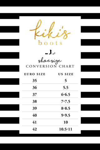 Conversion Sizing Chart