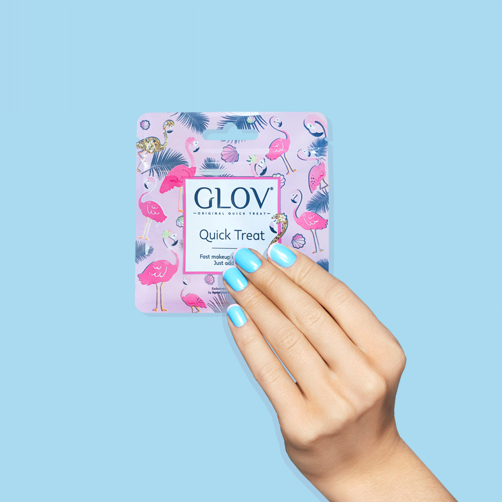 glov.gr, glov makeup remover only with water for all skin types, very berry