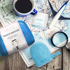 GLOV Travel Set for Dry Skin