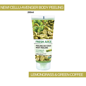 Cellu-Avenger Lemongrass & Green Coffee Body Peeling