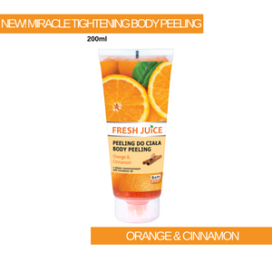 Miracle Tightening Orange & Cinnamon Body Peeling