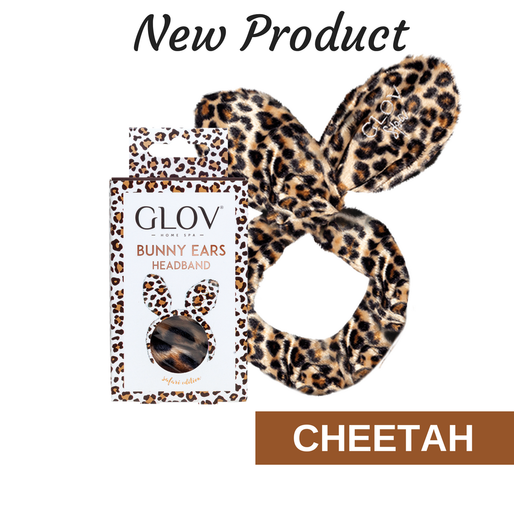 09. GLOV Bunny Ears Safari Edition - Cheetah