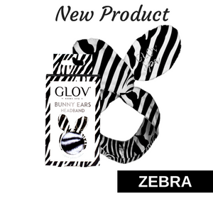 10. GLOV Bunny Ears Safari Edition - Zebra