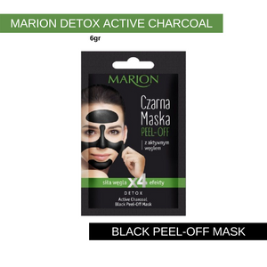 Marion Detox Active Charcoal Peel-Off Mask